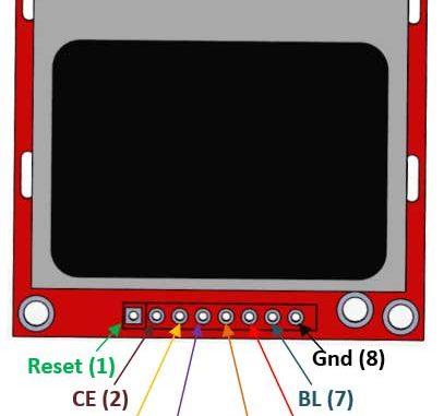 IOT47 - LCD nokia 5110