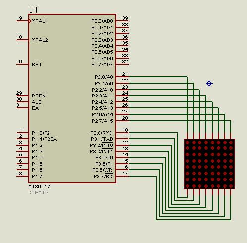 lập trình led ma trận 8x8