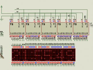 clock matrix 8x40
