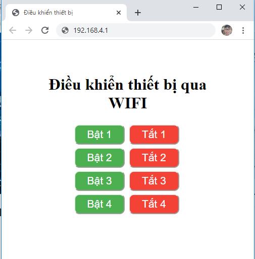 tạo webserver esp8266