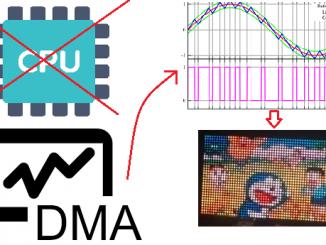 dma scan led matrix